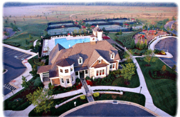 Upper view of Rivermoore community